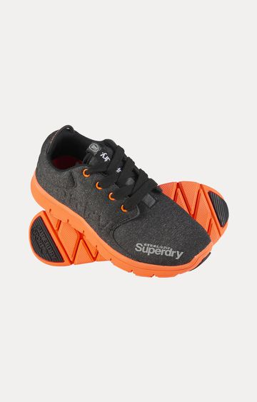Superdry   Black Running Shoes