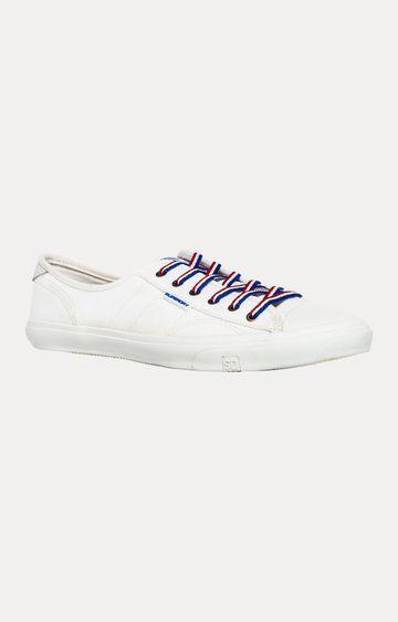 Superdry | Vintage White Sneakers