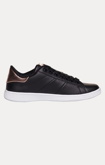 Superdry | Black and Rose Gold Sneakers
