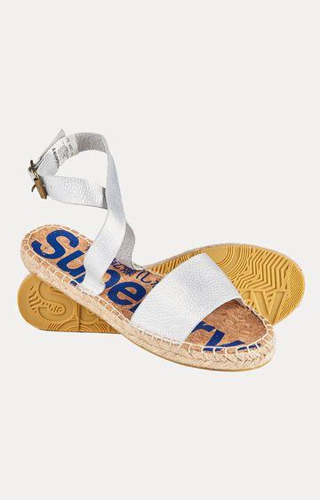 Superdry   Sofia Strap Silver Sandals