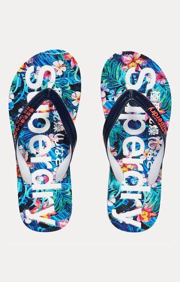 Superdry | Superdry Aop Blue Flip flops