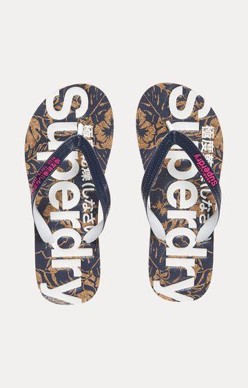 Superdry | Navy Flip flops
