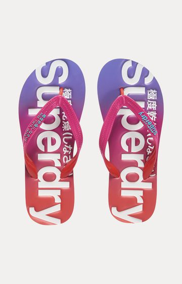 Superdry | Red Flip flops