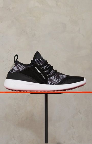Superdry   Black Sports Shoes
