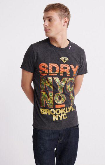 Superdry | Black No 1 V2 T-Shirt