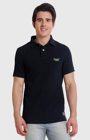Superdry | Black Solid T-Shirt