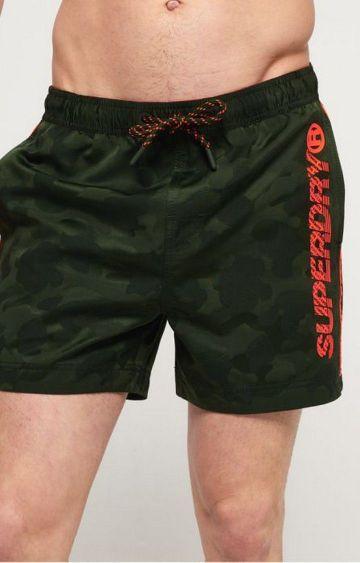 Superdry | Superdry Green Men Activewear Shorts