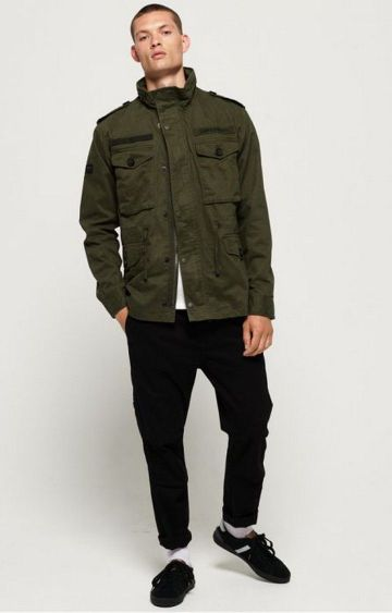 Superdry | Superdry Green Men Activewear Jackets