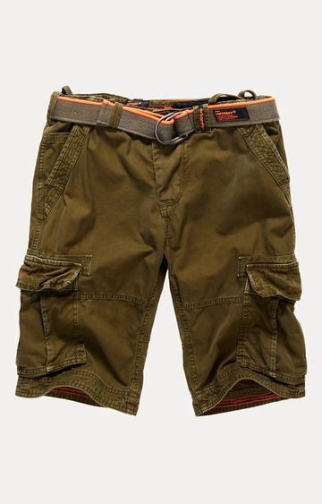 Superdry   Core Cargo Lite Green Shorts