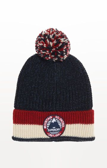 Superdry | Blue Solid Beanie