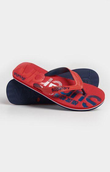 Superdry | Red Classic Scuba Flip Flop