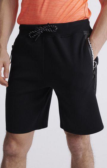 Superdry   Black Gymtech Shorts