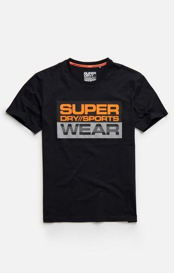 Superdry | Black Streetsport Graphic T-Shirt
