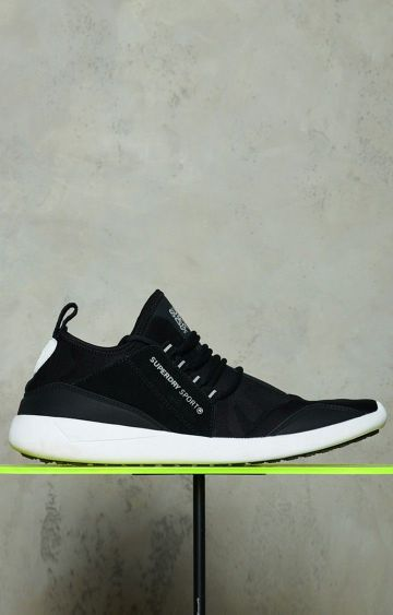 Superdry | Black Sports Shoes