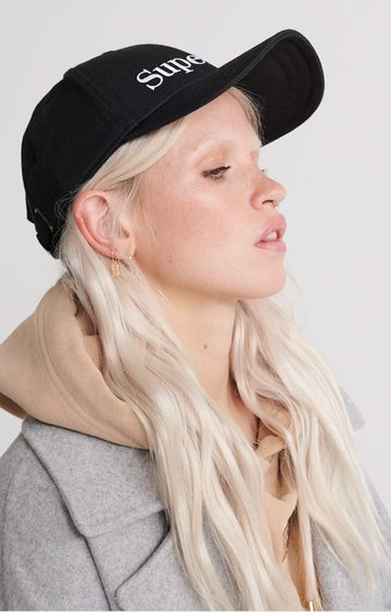 Superdry | Black Embroidery Cap