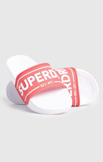 Superdry | Red Edit Chunky Slide