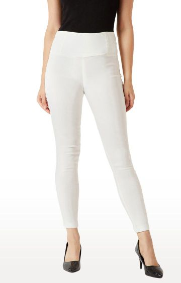 MISS CHASE   White Jeggings