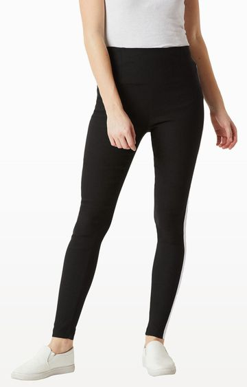 MISS CHASE | Black Jeggings