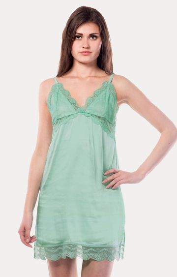 MISS CHASE | Green Babydoll