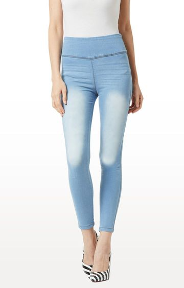MISS CHASE | Light Blue Jeggings