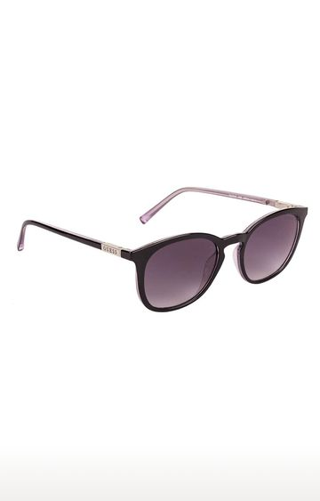 GUESS | Round Sunglass with Grey Lens