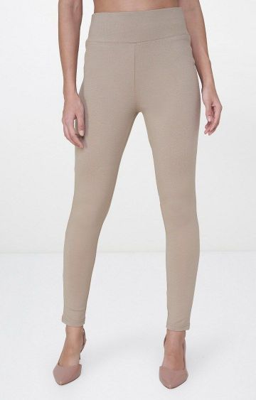 AND | Beige Jeggings