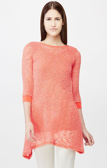 AND | Coral Printed Tunic