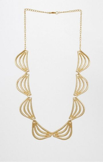 AND | Gold Statement Necklace