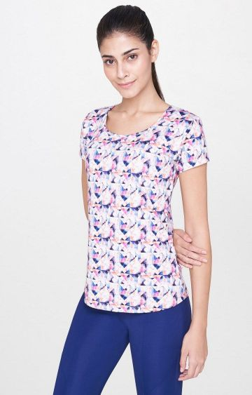 AND | Multicoloured Printed T-Shirt