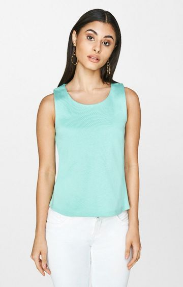 AND | Aqua Solid Top
