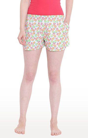 La Intimo | Multicoloured Printed Shorts