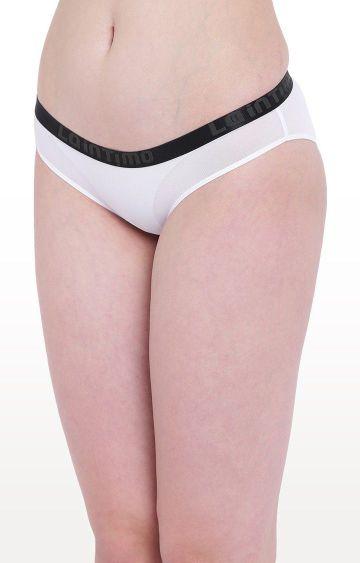 La Intimo | White Aqua Show Bikini Panty