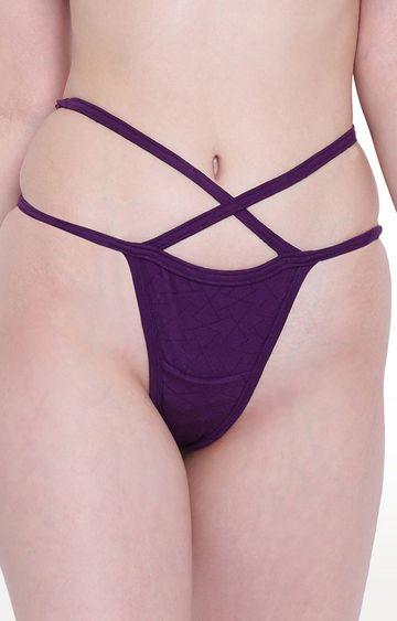 La Intimo   Purple Beach Mania Panty