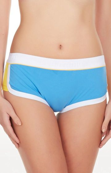 La Intimo | Blue Retro Look Boyshorts