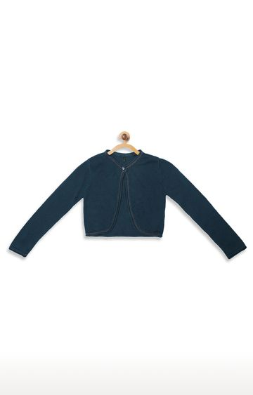 United Colors of Benetton | Blue Solid Cardigan