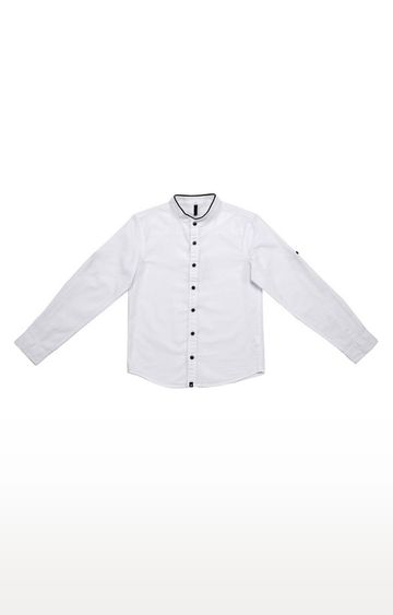 United Colors of Benetton | Off White Printed Shirt