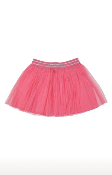 United Colors of Benetton | Pink Solid Skirt