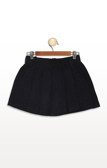 United Colors of Benetton | Black Solid Skirt