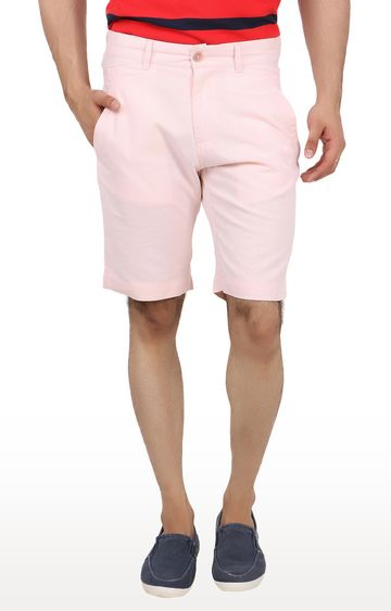 United Colors of Benetton | Peach Solid Shorts