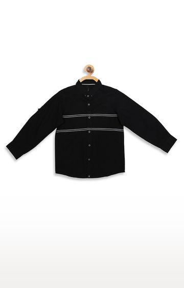 United Colors of Benetton | Black Solid Shirt