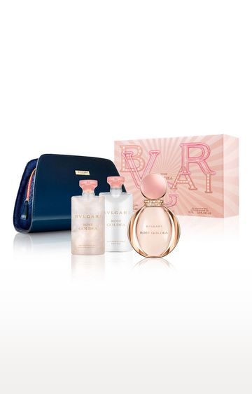 Bvlgari | Rose Goldea Gift Set EDP90 ML and SG75 ML and BL75 ML and Pouch)(45940)