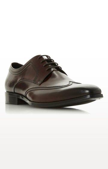 Dune London | Brown Sansom Derby Shoes