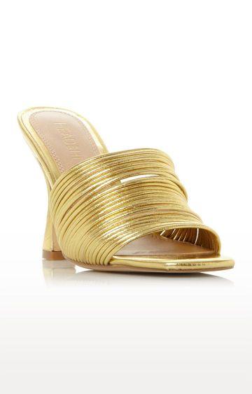 Dune London | Gold Sandals