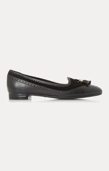 Dune London | Black Gambie Loafers