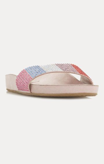 Dune London | Multicoloured Slip-Ons Larsa