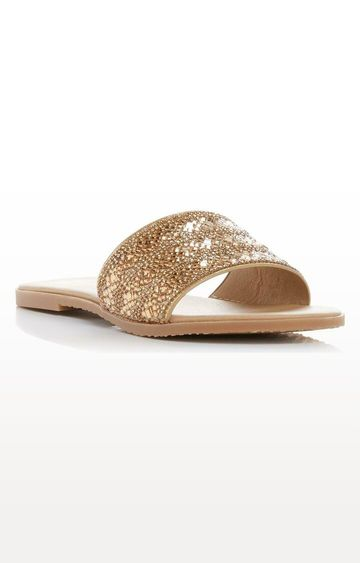 Dune London | Gold Levels DI Slip-ons