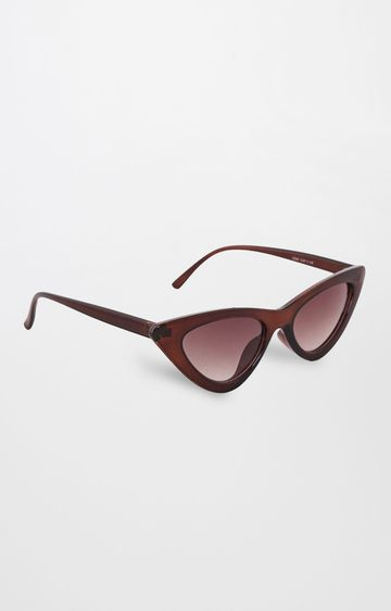 Global Desi | Brown Cateye Sunglasses