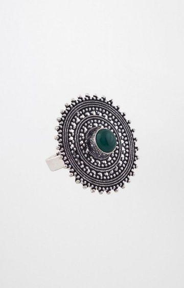 Global Desi   Silver Ring