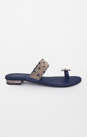 Global Desi | Blue Sandals