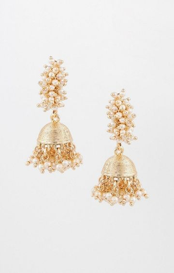 Global Desi | Gold Jhumkis